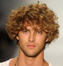 men curly haircuts with medium long length hair with long curly