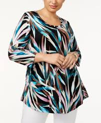 jm collection plus size scoopneck top created for macy u0027s tops