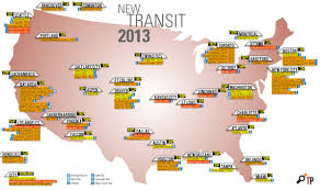 Atlanta Metro Rail Map by Openings And Construction Starts Planned For 2013 The Transport