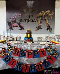 transformers birthday decorations create a birthday battle ground for your boys with a transformers