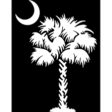 Flag With Tree And Moon Moon Clipart Palmetto Tree Pencil And In Color Moon Clipart