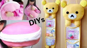 Diy Room Decor Easy Owl Pillow Sew No Sew Room Decor Diys Diy Rilakkuma 3 Storage Hanging Wall Organizer Diy
