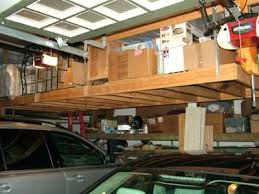 Free Standing Shelf Plans by I Used Your Plans To Build Shelves Above My Garage Door And They