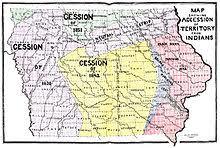 map of iowa iowa