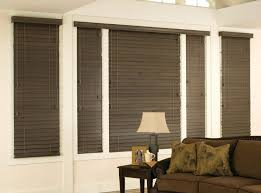 Windows Without Blinds Decorating Decoration Wood Blinds Window Treatments The Home Depot Bay