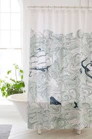 Nautical Bathroom Curtains Uncategorized Nautical Shower Curtains Inside Best