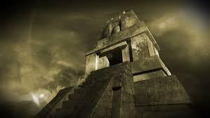 imagenes mayas hd maya pyramid dramatic scene realistic 3d render and clouds footage