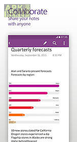 onenote app for android onenote for android free at apk here store apkhere mobi