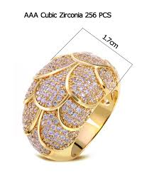 design jewelry rings images Unique perlage design jewelry women ring 256pcs aaa white cubic jpg