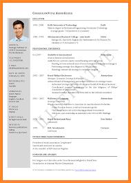 Jobs Economics Degree by 3 Cv For Job Application Pdf Parts Of Resume