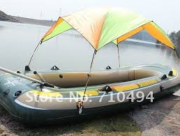 Awning Boat Bimini Top Inflatable Boat Sun Shade Canopy Inflatable Boat