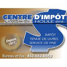 bureau impots centre d impôt francine houle home