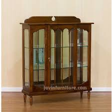 Curio Cabinet With Glass Doors Small Glass Curio Cabinet Display New Black Glass Curio