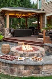 Garden Firepits Simple Backyard Pit Ideas Landscaping Pictures Of Pits