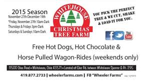 whitehouse christmas tree farm 2015 youtube