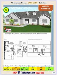 american style homes floor plans cape cod style homes floor plans inspirational all american homes