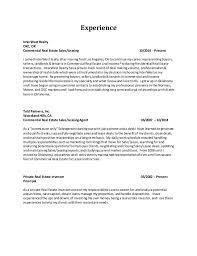 Commercial Real Estate Resume Resume Richard Jennings