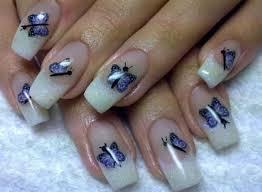 stylish butterfly nail designs u2013 butterfly nail art fashion