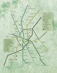 Metro 2033 Map by Map Piter Overview Big Map Metro 2033 Photo Shared By Keir27