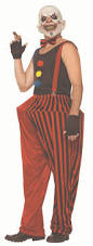 twisted clown mens costume at spirit halloween leave some