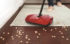 Laminate Floor Sweeper Dirt Devil Pd10010 Simpli Sweep Manual Push Sweeper For Carpets