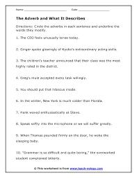 adverbs practice worksheet worksheets