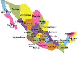 map of mexico yucatan region home exchange in mexico