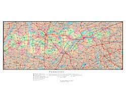 Map Of Virginia Cities Maps Of Tennessee State Collection Of Detailed Maps Of Tennessee