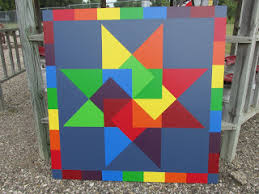 How To Paint A Barn Quilt Ag Heritage Park Barn Quilt Block