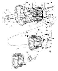 transmission case extension u0026 related parts for 2005 dodge ram 1500