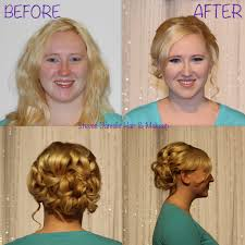 Wedding Hair Extensions Before And After by Wedding Makeup Bridal Hair And Makeup Salon In Las Vegas