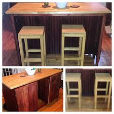 Bar Stools For Kitchen Islands Ana White Kitchen Island With Bar Stools Diy Projects
