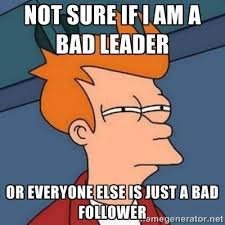 Leadership Meme - how to become a leader in five steps theodo