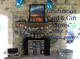 graduation card box rustic gift and card box ideas for graduation or wedding