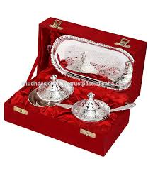silver gift items india kitchen decor indian silver plated brass bowls handicrafts silver