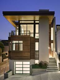home design wonderful small minimalis house in sloping area with home design wonderful small minimalis house in sloping area with modern wooden facade new
