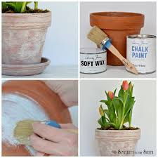 How To Paint A Flower Vase 120 Best Diy Planters Images On Pinterest Plants Pots And Balcony