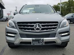 pre owned mercedes m class certified pre owned 2015 mercedes m class ml 350 4matic in