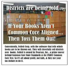 Common Core Meme - if your books aren t common core aligned then toss them out