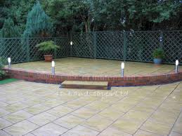 Paved Garden Design Ideas Small Patio Garden Design Ideas The Gardening Set Pavers Heavenly
