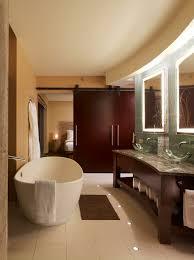 powder room oversized soaking tub duel glass vanity u0027s spa