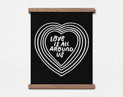 is all around us 8 x 10 print wander