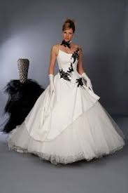robe de mari e noir et blanc robe mariee noir et blanche rob soiri bersun