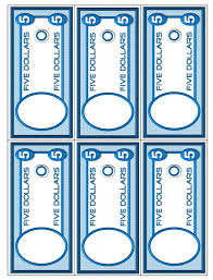 play money template picture money activities games and
