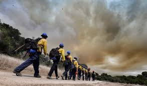 Wildfire Lompoc Ca by Brush Fire Breaks Out In Lompoc
