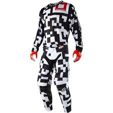 motocross gear combos troy lee designs 2018 gp air maze white black gear combo at mxstore
