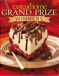 taste of home grand prize winners n a 9780898217704 amazon com