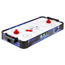 best air hockey table for home use hathaway blue line 2 ft 8 in air hockey table top bg1013t3 the