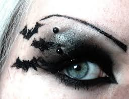 Eyeliner Halloween Makeup by Bat Make Up Youtube