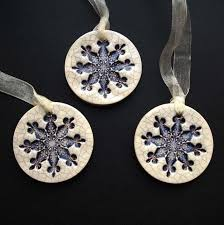 best 25 snowflake ornaments ideas on